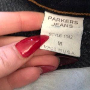 Skirts - Vintage Parker's jeans denim skirt